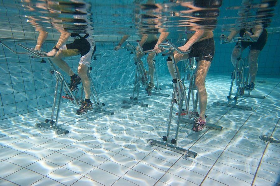 Cours d'aquabike